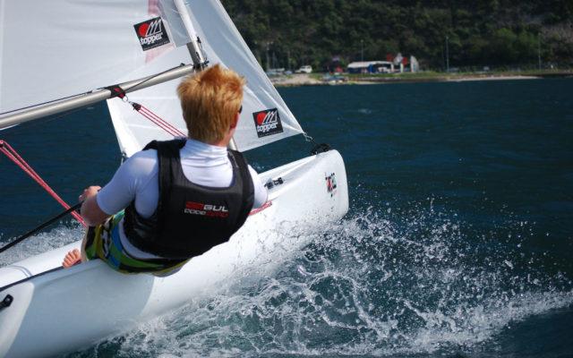 Topper Topaz TAZ Sailing Dinghy