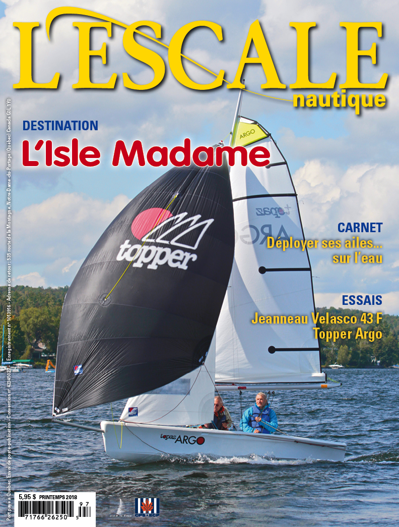 Topaz Argo Cover Story L'Escale Nautique