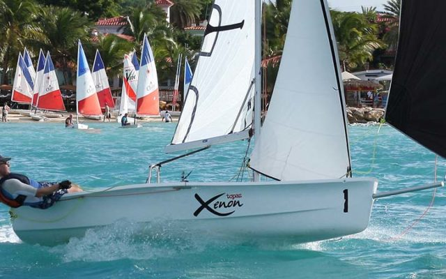 Topper Topaz Xenon Sailing Dinghy